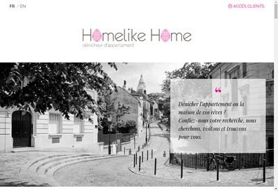 Site internet de Homelike Home