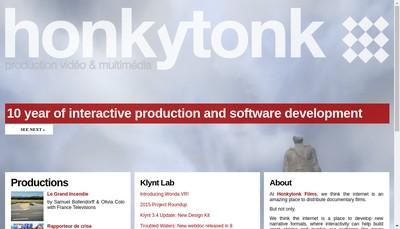 Site internet de Honkytonk