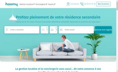 Site internet de Hoomy