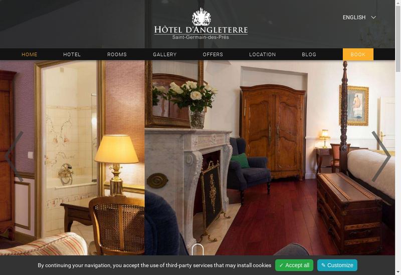 Capture d'écran du site de Golf du Chateau de la Chouette