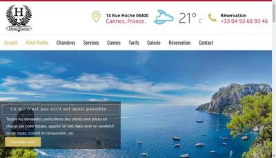Site internet de Hotel Hoche