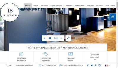 Site internet de Le Bugatti