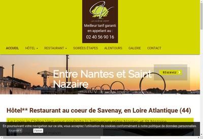 Site internet de Hotel le Chene Vert