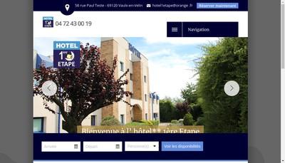 Site internet de Hotel 1Ere Etape