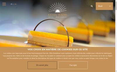Site internet de Le Radio