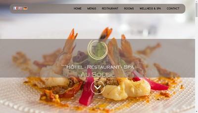Site internet de Au Soleil