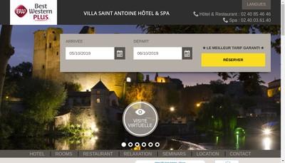Site internet de Saint Antoine