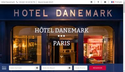 Site internet de Hotel Danemark