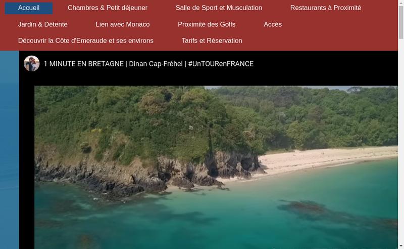 Capture d'écran du site de Hotel de Matignon