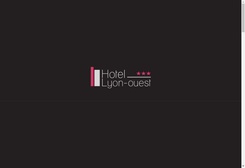 Capture d'écran du site de Hotel Lyon Ouest