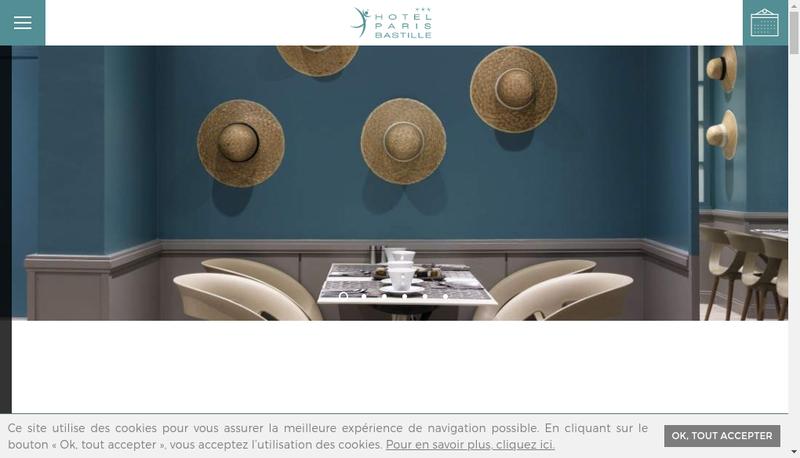 Capture d'écran du site de Opera Bastille SARL