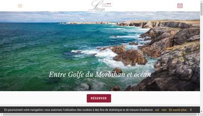 Site internet de Hotel Restaurant Lesage