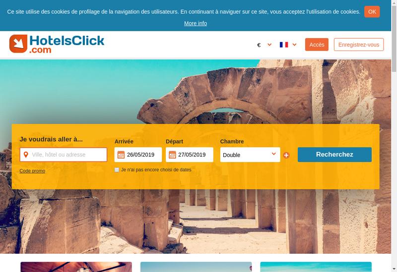 Capture d'écran du site de Hotel Hoche