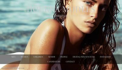 Site internet de Hype Models