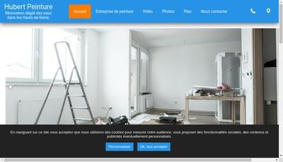 Site internet de Hubert Peinture