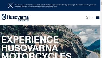 Site internet de Husqvarna Motorcycles France