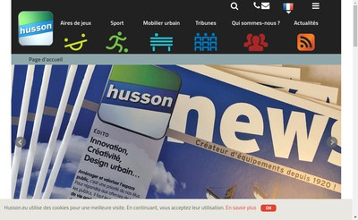 Site internet de Husson International