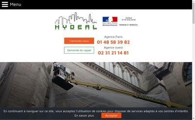 Site internet de Hydeal