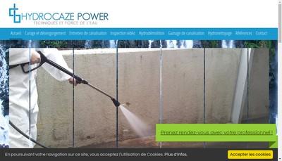 Site internet de Hydrocaze Power