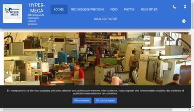 Site internet de SARL Hyper Meca