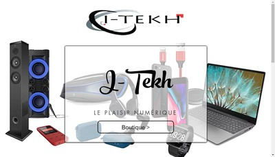 Site internet de SARL I-Tekh