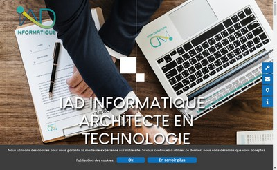 Site internet de Société IAD