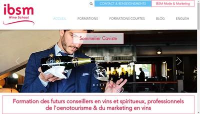 Site internet de Ibsm la Mode et le Vin