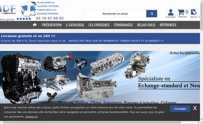 Site internet de Culasses Moteurs Center - CMC