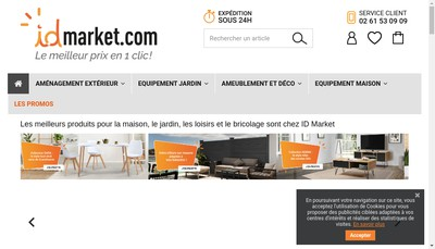 Site internet de Id Market