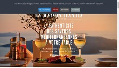 Site internet de Ifantis France SAS