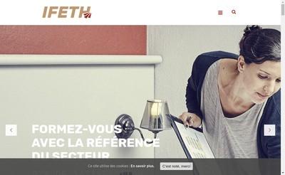 Site internet de Ifeth