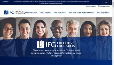 Site internet de IFG