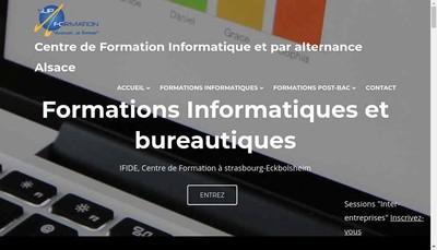 Site internet de Ifide