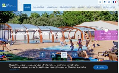 Site internet de Ile Blanche