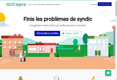 Site internet de Illicopro