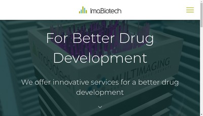 Site internet de Imabiotech