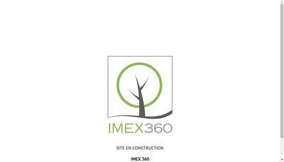 Site internet de Imex 360