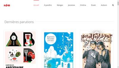 Site internet de Editions Imho