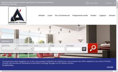 Site internet de Immobilier-Tissidre