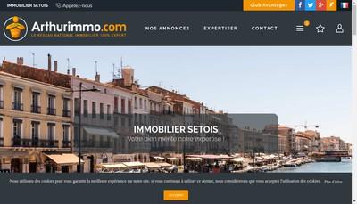 Site internet de Immobilier Setois