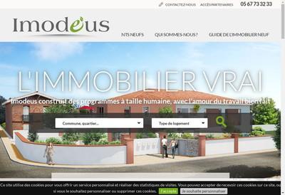 Site internet de Gpe Omnium Finance P Promotion Immob