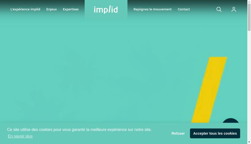 Capture d'écran du site de Segeco