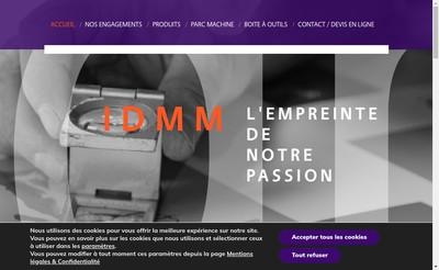 Site internet de Imprimerie des Monts d'Or