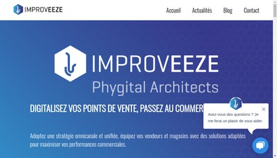 Site internet de Improveeze