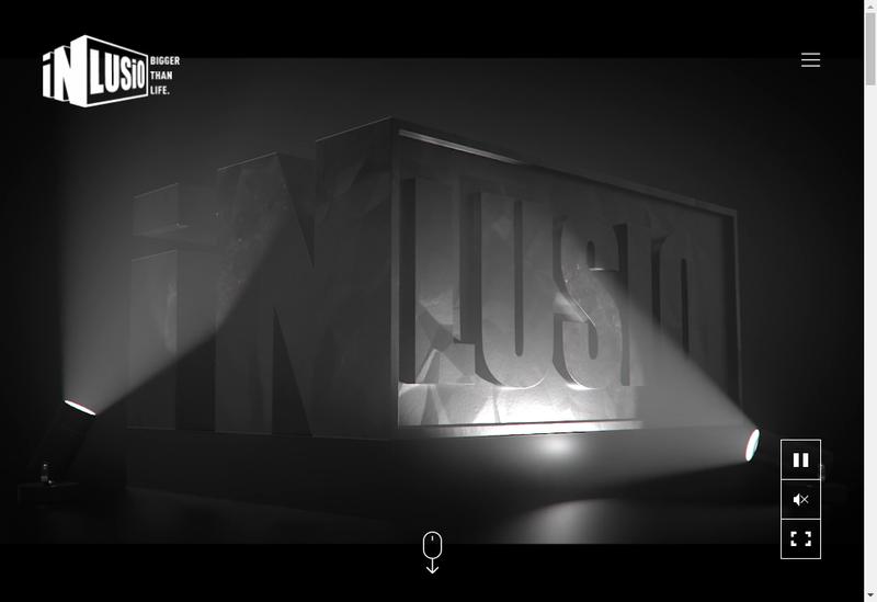 Capture d'écran du site de In Lusio