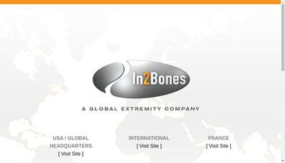 Site internet de In2Bones