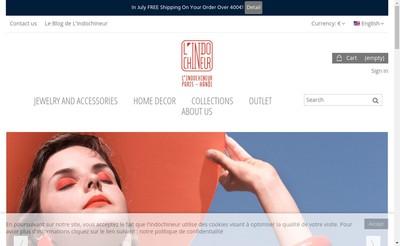 Site internet de L'Indochineur