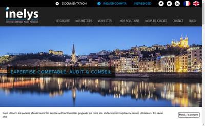 Site internet de Groupe Inelys