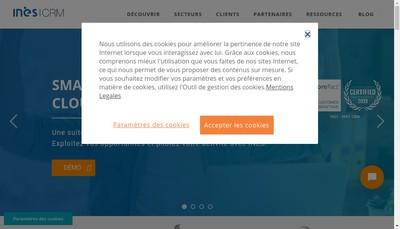 Site internet de Ines France