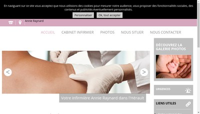 Site internet de Sanit Chauffage